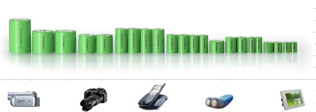 Eco-Friendly AA Nimh Battery Packs