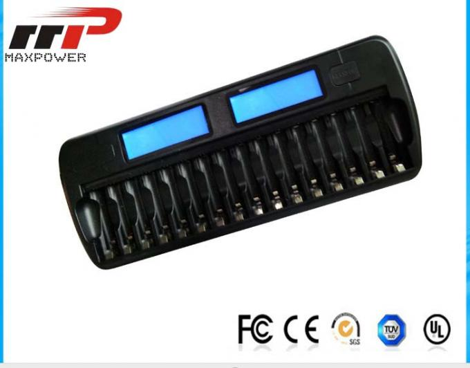 NIMH NiCad LCD Alkaline Battery Charger