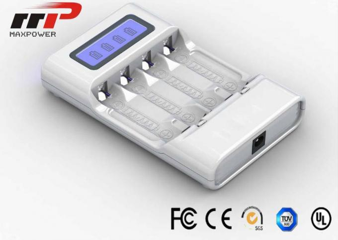 Intelligent AA AAA LCD Battery Charger