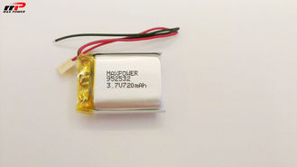 High Energy Density 952532 720mAh Lithium Polymer Battery