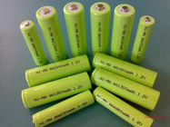 China Green 1.2V DVD NIMH Rechargeable Battery AA 2700mAh With ROHS factory