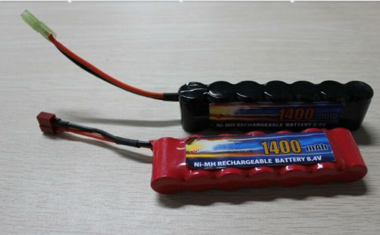 High Power Discharge Typ 8.4V 1600 mAh  Airsoft Gun Battery / Rechargeable NIMH AA Batteries