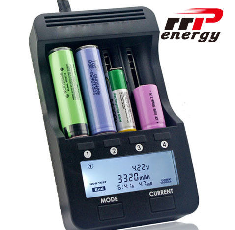 Lithium Ion battery Fast charger LCD Battery Charger NIMH NICAD AA AAA CE