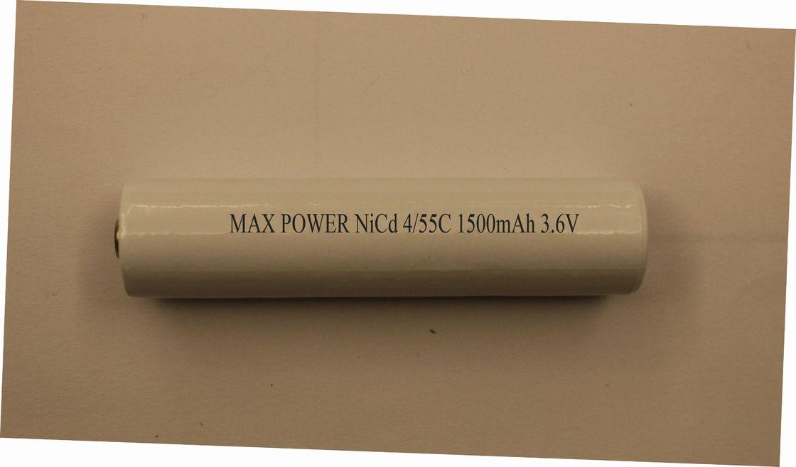 batterie de le torche rechargeable de torche de 3 6v 4 5sc 1500mah cylindrique