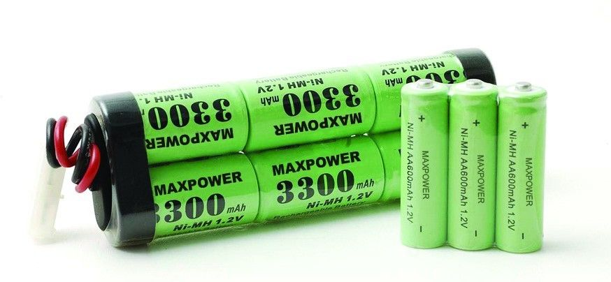 SC 3300mAh 7.2V Nimh Battery Packs 10C for R/C Hobbies UL CE