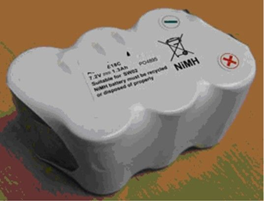 1500mAh NIMH Rechargeable Batteries 7.2V High Output For Vacuum Cleaner Airsoft