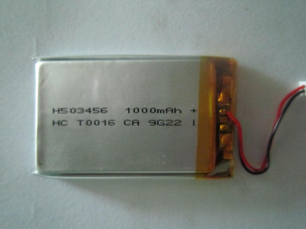 high discharge 1000mah 3 7v lithium polymer battery. Black Bedroom Furniture Sets. Home Design Ideas