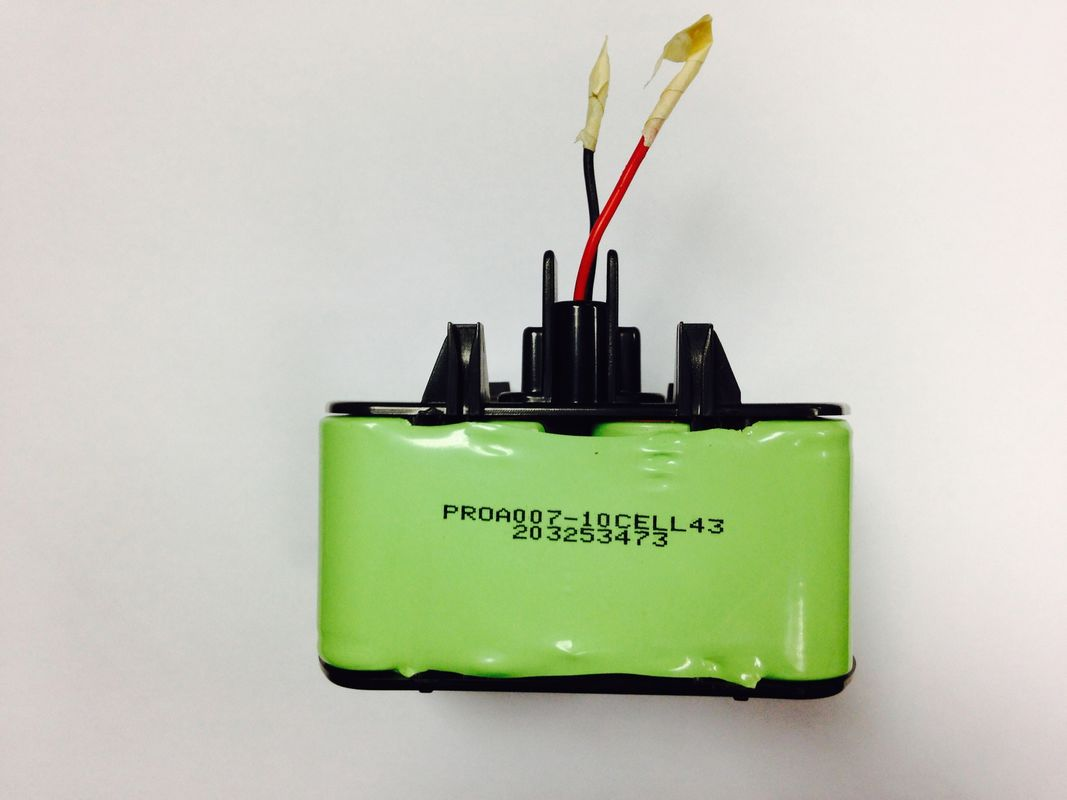 High Voltage 12V SC 3300mAh Nimh Battery Packs With Plastic Housing