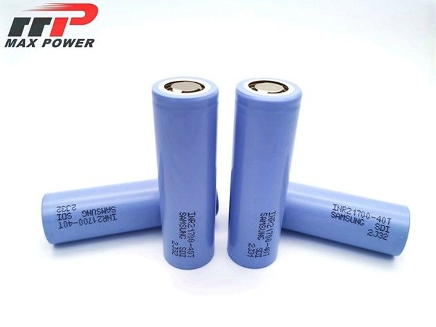 40T battery  INR21700 4000mAh 3.7V high rate discharge Original SAMSUNG Lithium Ion Battery Pack