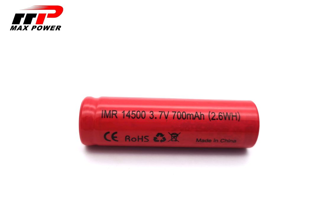 electric shaver battery 15C Lithium Ion Rechargeable Batteries High Drain 14500 IMR