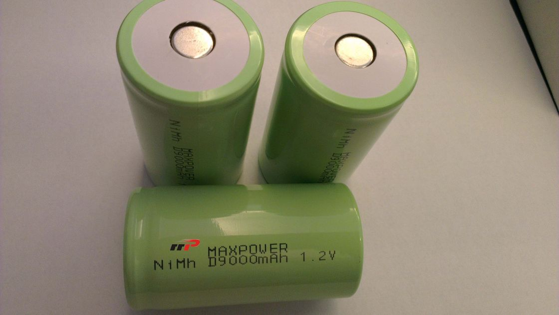 D9000 1.2V NIMH Rechargeable Batteries Flat Top High Top Battery Cell UL CE