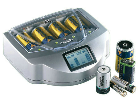 High Efficiency LCD Battery Charger