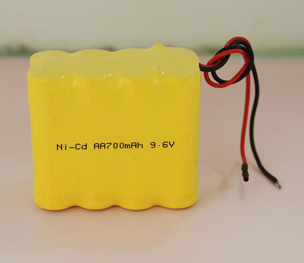 9.6V AA Nicd Energizer Rechargeable Batteries 700mAh For