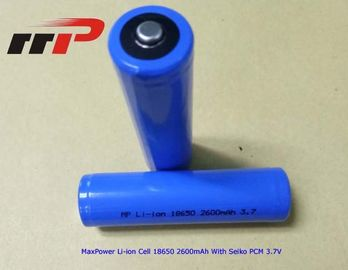 China 18650 2600mAh Rechargeable Lithium Ion Batteries 3.7V UL CE IEC2133 CB distributor