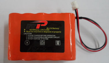 China 12V 600mAh aa nicd battery , ni cd rechargeable batteries KS KFI Emergency lighting distributor