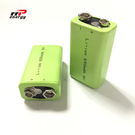 China 9V 650mAh  Lithium Ion Batteries Ready To Use Interphone Medical Device distributor