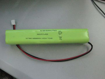 China High Temperature Emergency Lighting Battery NIMH 18700 4000mAh 4.8V distributor