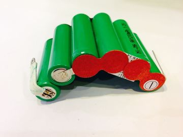 China 1200mAh Safety NIMH Rechargeable Battery Pack 7.2V Arc Shape , Small Battery Packs factory