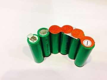 China Customized Green Energy Nimh Battery Packs 7.2V 1200mAh Low Internal Resistance factory
