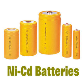 China NiCd Battery Packs AAA300MAH , Rechargeable Batteries BackUP Power distributor
