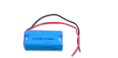 China Non-toxic 7.2Volt 2000mAh Rechargeable Lithium Ion Battery Packs UL CE distributor