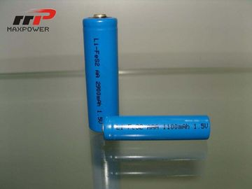 China AAA LiFeS2 1100mAh 1.5V Primary Lithium Battery High Temperature distributor
