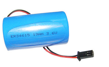 China High Power 3.6V ER34615 Cylindrical Li-SOCl2 Battery 19000mAh Eco-friendly distributor