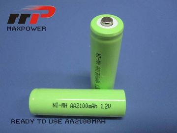 Ready charging nimh Rechargeable Battery 1.2V AA2100mAh CE UL