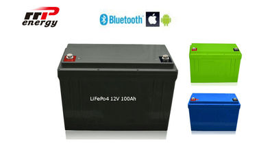 China 2000 Times Cycle Life Lithium Ion Polymer Battery 12V 100Ah With Smart BMS APP distributor
