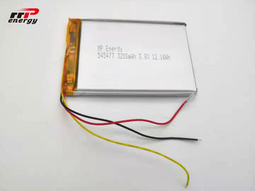 China 3.8V 3200mAh Lithium Polymer Battery 545477 hardware device battery distributor