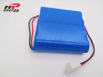 China 7.4V 18650 6700mAh 2S2P  Lithium Ion Rechargeable Batteries CB IEC distributor