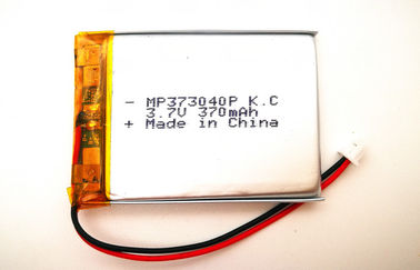 Electrical Device Rechargeable Lithium Ion Polymer Battery Pack 3.7 V 353040 370mah with KC CB UL
