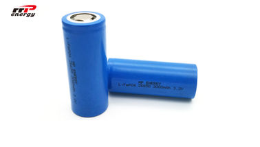 China 26650 3000mAh Lithium LiFePo4 Battery 3.2V 25000 Cycles High Discharge Rate distributor