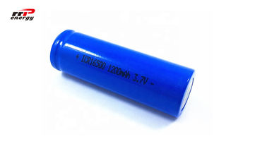 China Durable Lihtium Ion Rechargeable Batteries 3.7V 16500 1200mAh 4.44WH 17500 Cell distributor