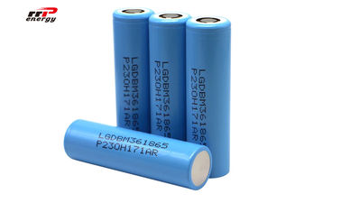 China 3600mAh LG M36 Lithium Ion Rechargeable Batteries LGDBM36 18650 1000 Cycles distributor