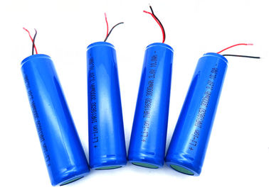 China PCB Wires Rechargeable Li Ion Battery Pack INR18650 3.7V 3000mAh With UL KC CB PSE factory
